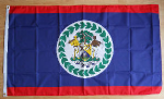 Belize Large Country Flag - 3' x 2'.